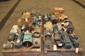4 PALLETS OF ASSORTED AC / DC MOTORS 0.3 TO 1 HP