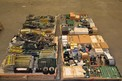 4 PALLETS OF ASSORTED CONTROLS, PCB'S