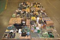6 PALLETS OF ASSORTED CONTROLS, PCB'S, SENSOR