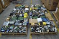 4 PALLETS OF ASSORTED ELECTRONICS, MODULES, CONTROLLERS