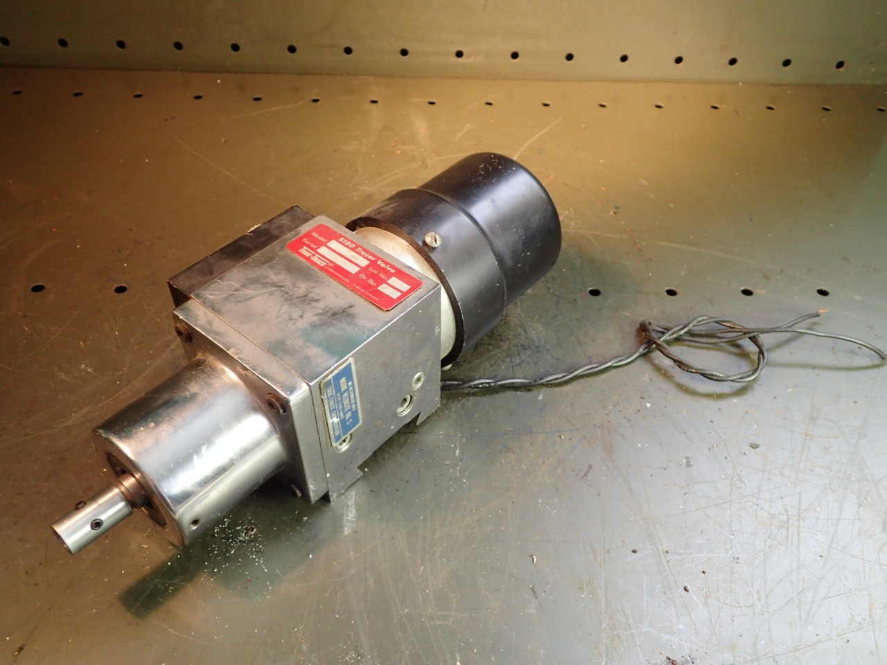 True Trace S180 Model 1056-01 Hydraulic Tracer Valve, Used in Good Condition