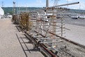 LOT OF 2 STEEL RACKING. STEEL PIPING IS INCLUDED