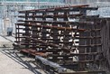 LOT OF 3 STEEL RACKING