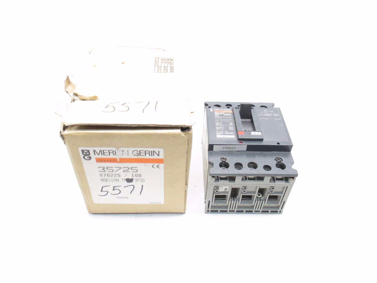 NEW MERLIN GERIN 100 A CIRCUIT BREAKER