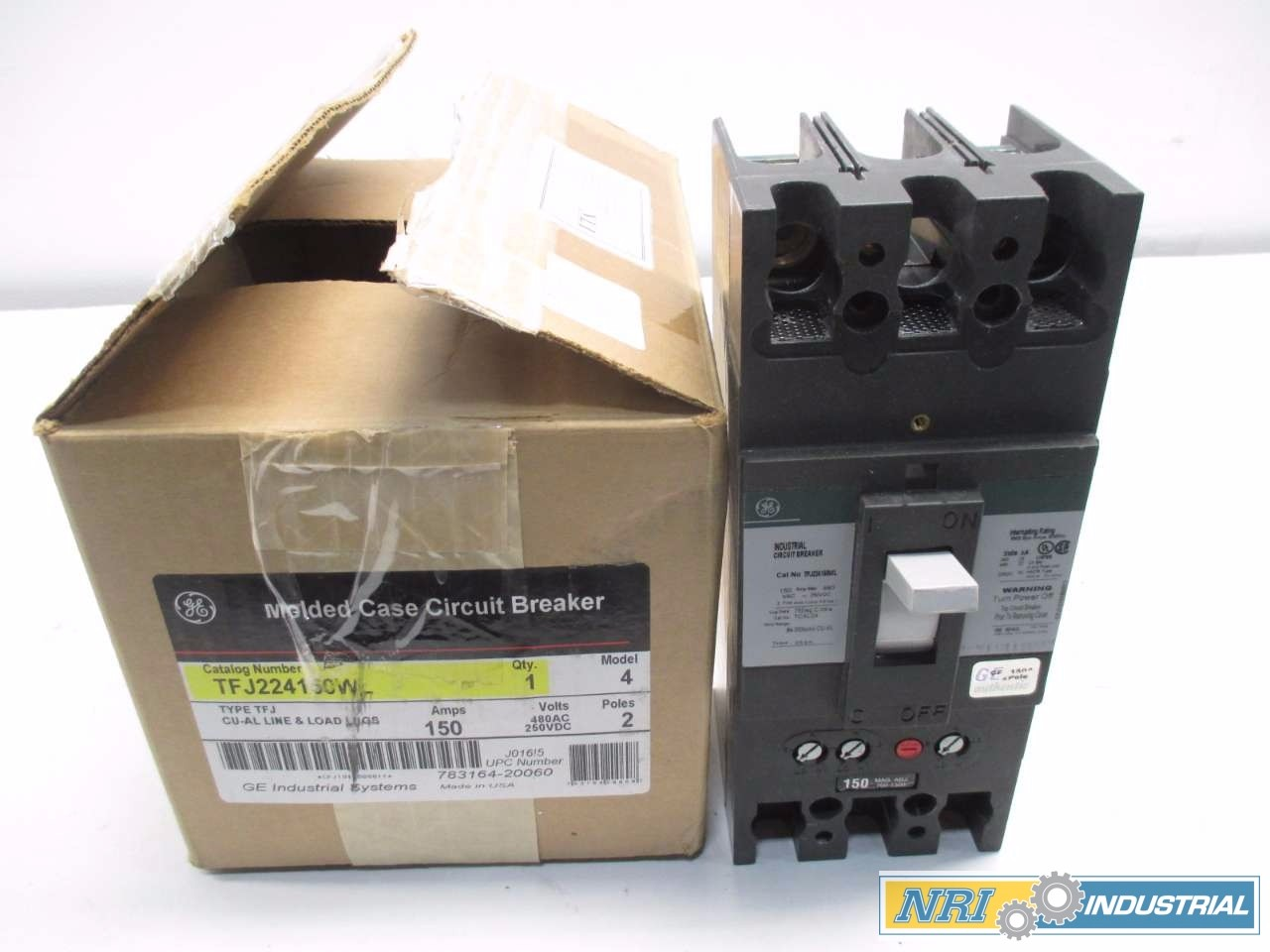 NEW GENERAL ELECTRIC 150 A CIRCUIT BREAKER