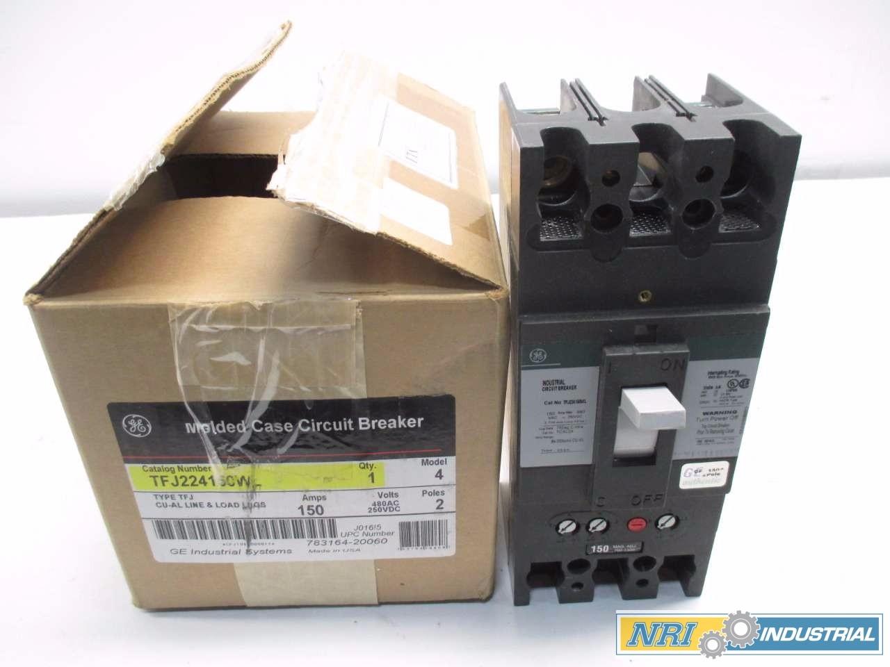 NEW GENERAL ELECTRIC 150 A CIRCUIT BREAKER