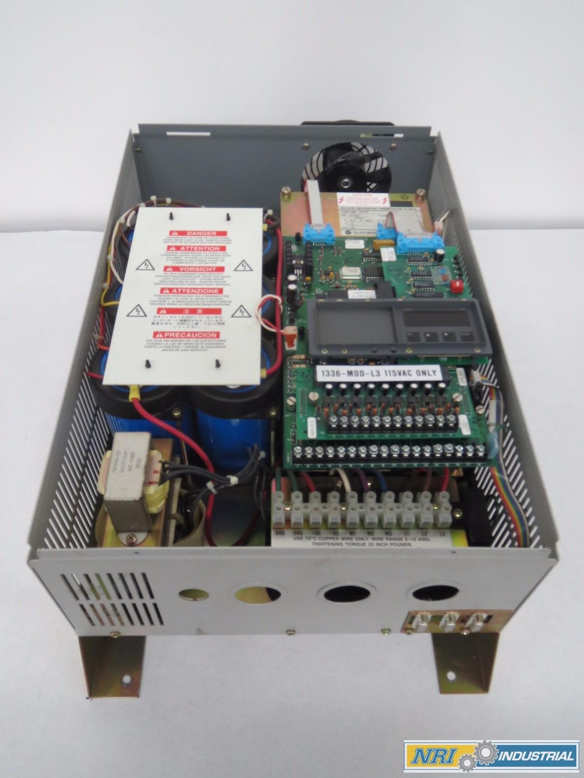 ALLEN BRADLEY 1336-C030-EOF 30HP AC DRIVE 575V-AC