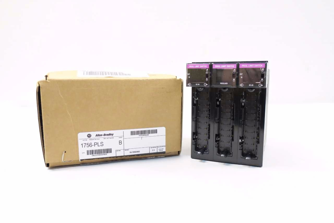 NEW ALLEN BRADLEY 1756-PLS CONTROLLOGIX PROGRAMMABLE LIMIT SWITCH