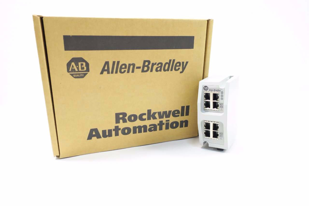 NEW ALLEN BRADLEY 1783-EMS08T STRATIX 6000 MANAGED ETHERNET SWITCH