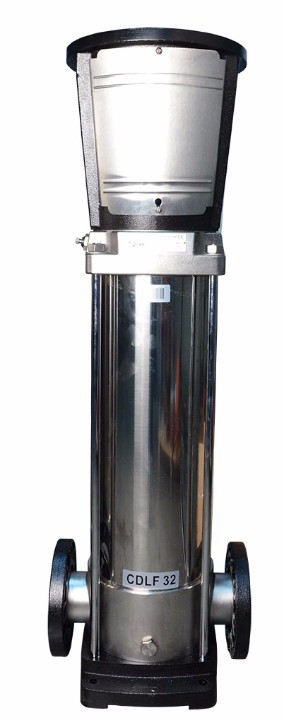 CR, CRE, grundfos style, EVM Ebara style, BVM Berkeley style, vertical multistage pump, stack, ,20hp,256tc,CDLF32-50-2U