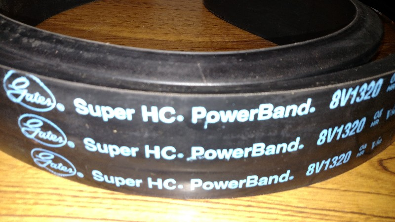 Gates 3/8V1320 Super HC PowerBand V-Belt - 9387-3132 New without Box