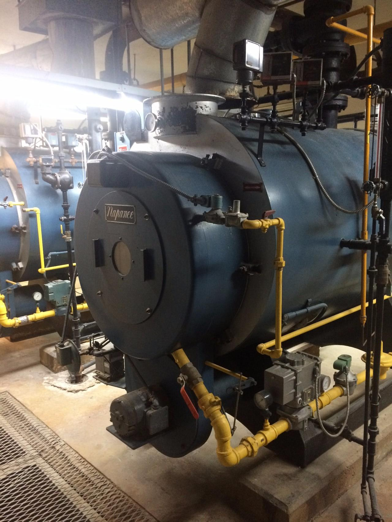 NAPANEE 342 60LS 2.508.000BTU/H 15PSI GAS FIRED BOILER