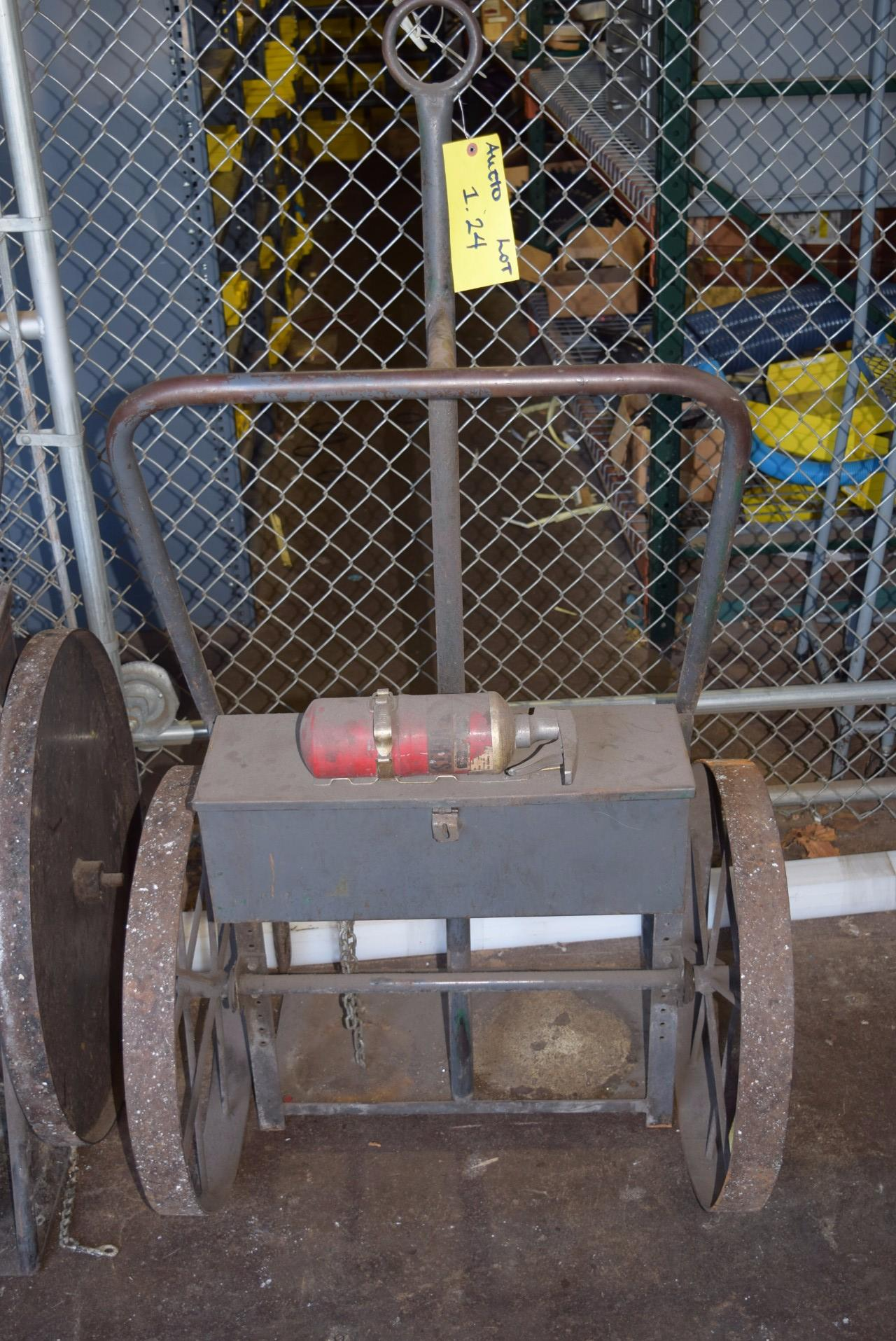 COMPRESSED AIR TANK ROLLING CART