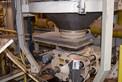 CARMAN HOPPER VIBRATOR WITH SALINA VORTEX MSC14-WS2 GATE VALVE AND NUCON DT1250 ROTARY VALVE