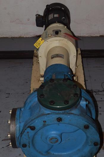 VIKING M125 GEAR PUMP WITH DAYTON 7.5HP ELECTRIC MOTOR