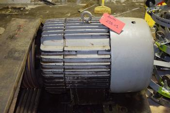 GENERAL ELECTRIC 5K4364B21 40HP ELECTRIC MOTOR