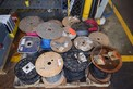 1 PALLET OF ASSORTED WIRE SPOOLS