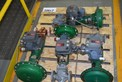 [TEST LOT] LOT OF 4 FISHER 1 IN STEEL CONTROL VALVES