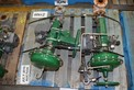 [TEST LOT] ASSORTED LOT OF 2 FISHER 1 IN - 2 IN STEEL CONTROL VALVE