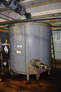 MCCARTER PARTIAL JACKETED STEEL TANK 4 WITH PATTERSON IMPELLER TYPE MIXER
