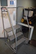 COTTERMAN 3 STEP ROLLING LADDER (DELAYED REMOVAL)