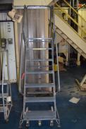 BALLYMORE 7 STEP ROLLING LADDER
