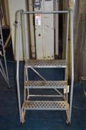 COTTERMAN 3 STEP ROLLING LADDER