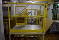 4 STEP STEEL SAFETY DECK PLATFORM IS ~50 X 42\