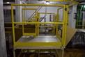 4 STEP STEEL SAFETY DECK PLATFORM IS ~50 X 42\