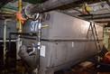 MCCARTER STEEL TANK 37 BOTTOM JACKETED WITH SIDE SCRAPE AGITATOR