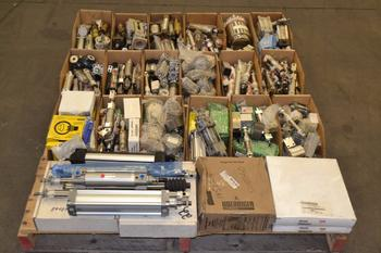1 PALLET OF ASSORTED PNEUMATIC CYLINDERS