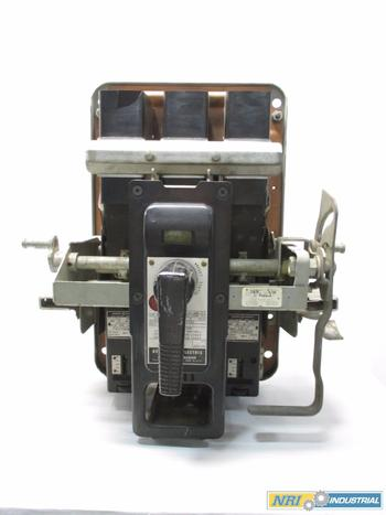 GE AK 600A LOW VOLTAGE CIRCUIT BREAKER