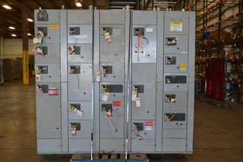 WESTINGHOUSE FIVE STAR MCC SWITCHGEAR