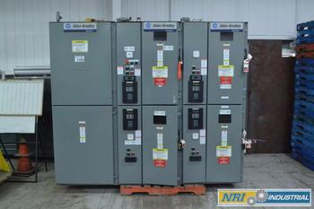ALLEN BRADLEY 400A 5KV MEDIUM VOLTAGE CONTACTOR SWITCHGEAR