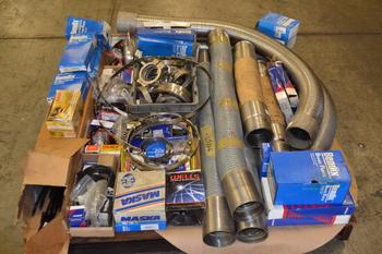 1 PALLET OF ASSORTED AUTOMOTIVE REPLACEMENT PARTS