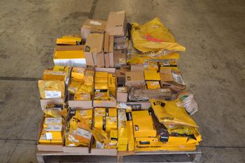 1 PALLET OF ASSORTED CATERPILLAR REPLACEMENT PARTS