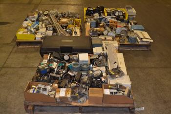 3 PALLETS OF ASSORTED INSTRUMENTATION