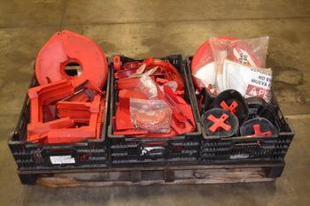 1 PALLET OF ASSORTED SAFETY EQUIPMENT FOR VALVES
