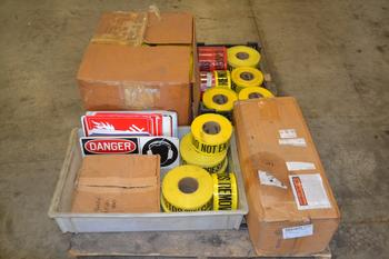 1 PALLET OF ASSORTED SAFETY EQUIPMENT