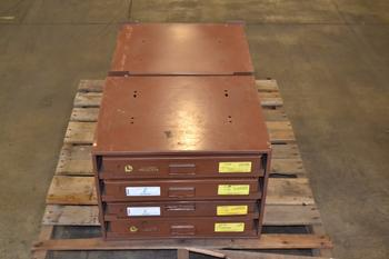 LAWSON 5 DRAWER HARDWARE CABINET WITH CONTENTS