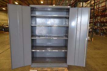 TOOL STORAGE CABINET, 5 SHELVES