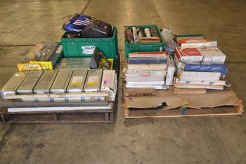 2 PALLETS OF ASSORTED WELDING SUPPLIES