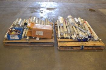 2 PALLETS OF ASSORTED WELDING RODS AND ACCESSORIES