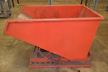 STEEL DUMPSTER HOPPER