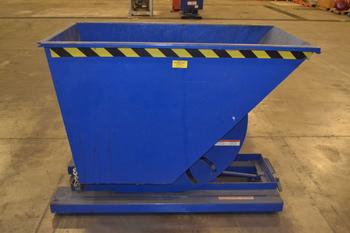 VESTIL D-75-HD STEEL DUMPSTER HOPPER