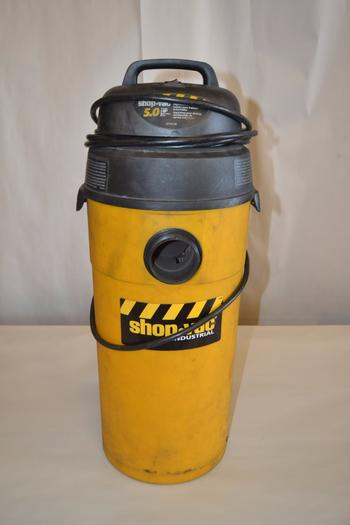 SHOP VAC INDUSTRIAL 5 HP