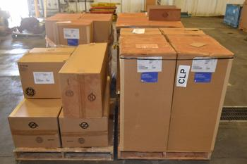 4 PALLETS OF GENERAL ELECTRIC PNEUMATIC FILTER ELEMENTS