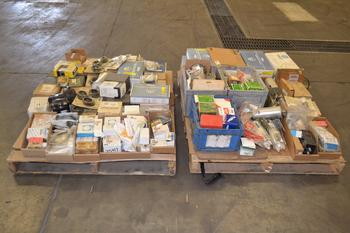 2 PALLETS OF ASSORTED VALVE PARTS