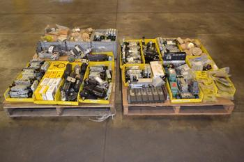 2 PALLETS OF ASSORTED PNEUMATIC REPLACEMENT PARTS