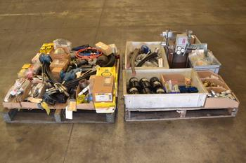 2 PALLETS OF ASSORTED HYDRAULIC REPLACEMENT PARTS
